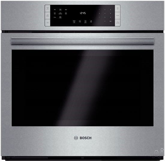 Bosch Hbl8451uc 30 Inch Single Electric Wall Oven With