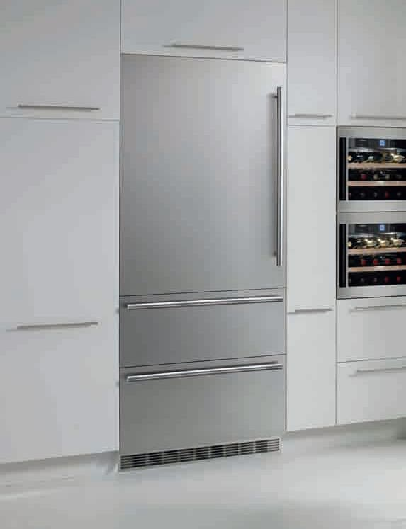 Liebherr Hcb1561 30 Inch Fully Integrated Bottom Freezer