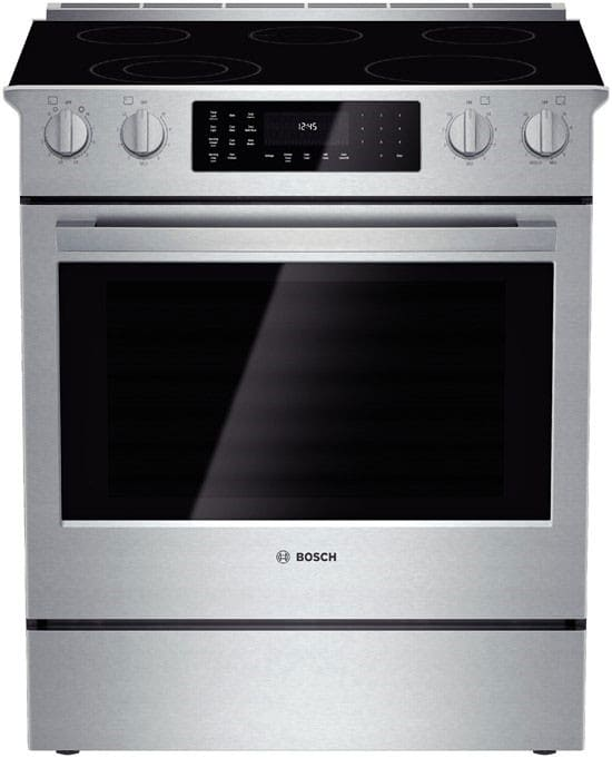 electric cooking stoves.  Electric Bosch 800 Series HEI8054U  30 Inside Electric Cooking Stoves E