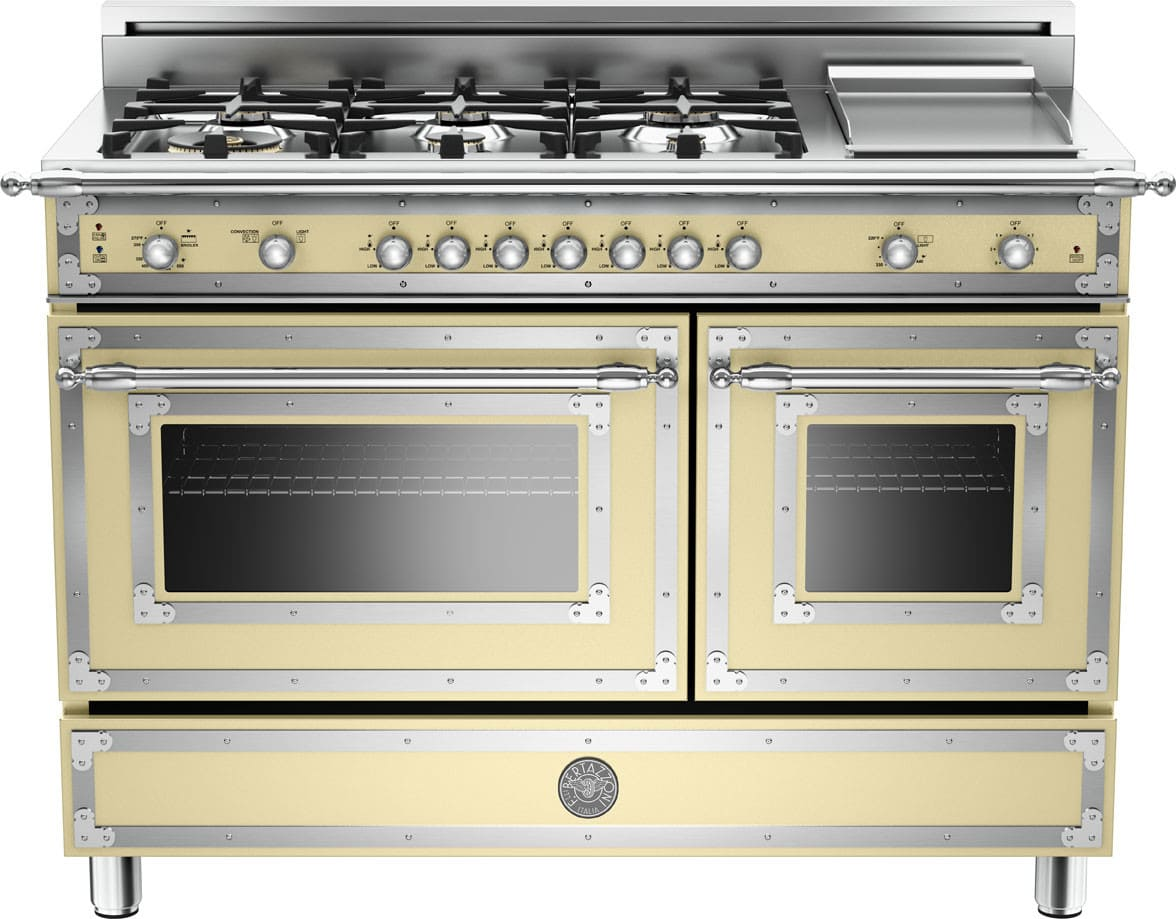 Bertazzoni Her486ggascrlp 48 Inch Traditional Style Gas