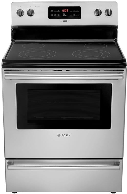 Bosch Hes3053u 30 Inch Freestanding Electric Range With 4