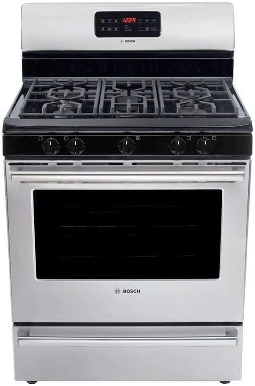 Bosch Hgs3053uc 30 Inch Freestanding Gas Range With 5