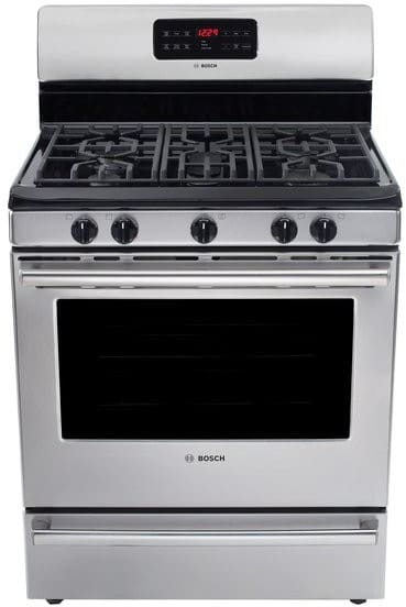 Bosch Hgs5053uc 30 Inch Freestanding Gas Range With 5