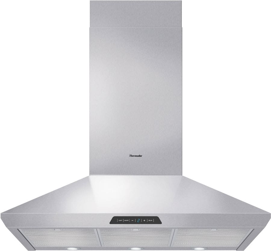 Thermador Hmcn36fs Wall Mount Chimney Range Hood With