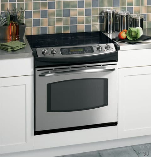 Ge Jd968 30 Inch Drop In Electric Range With Ceramic Glass