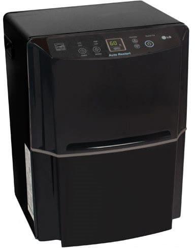 Lg Ld650eal 65 Pint Capacity Dehumidifier With Removable
