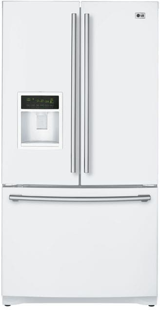 Lg Lfx25960sw 24 7 Cu Ft French Door Refrigerator With