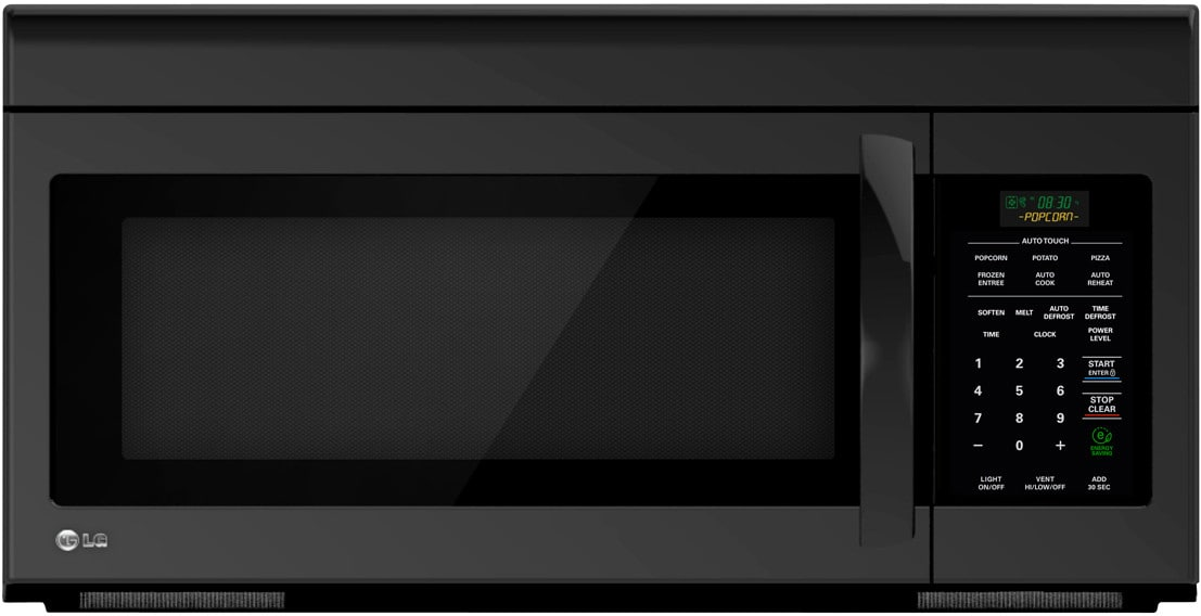 Lg Lmv1683sb 1 6 Cu Ft Over The Range Microwave Oven