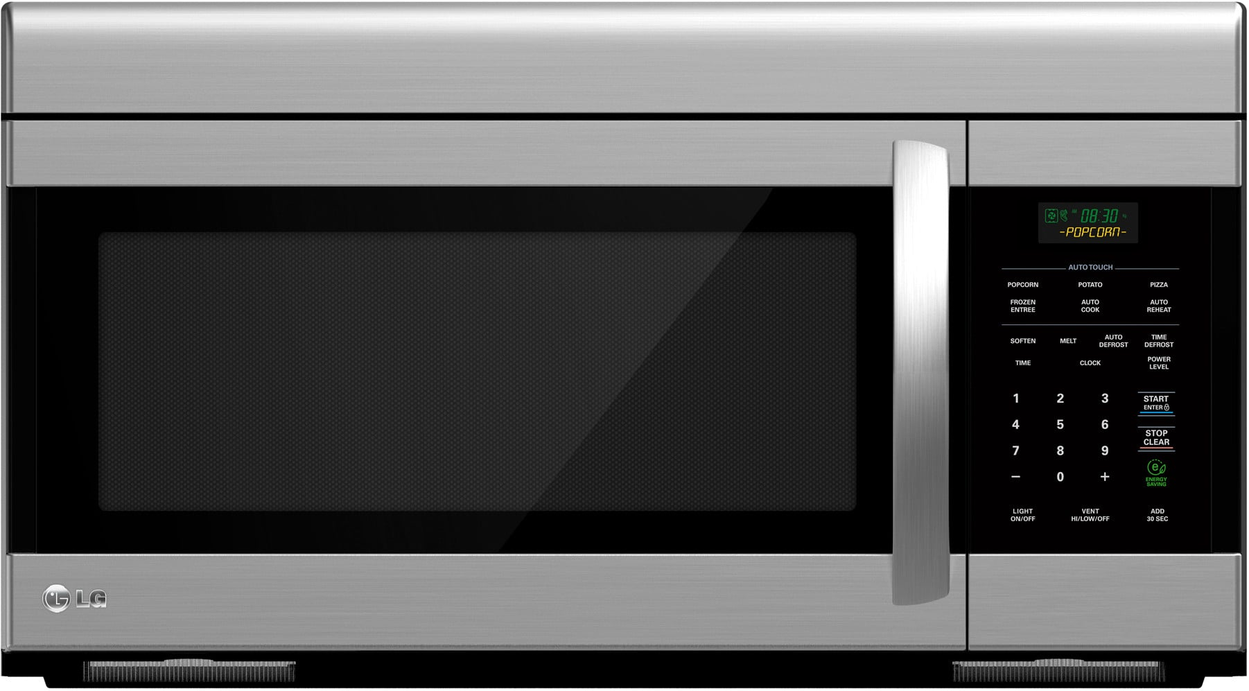 Best Over The Oven Microwaves Lg Lmv1683st 16 Cu Ft Over The Range Microwave Oven With Auto