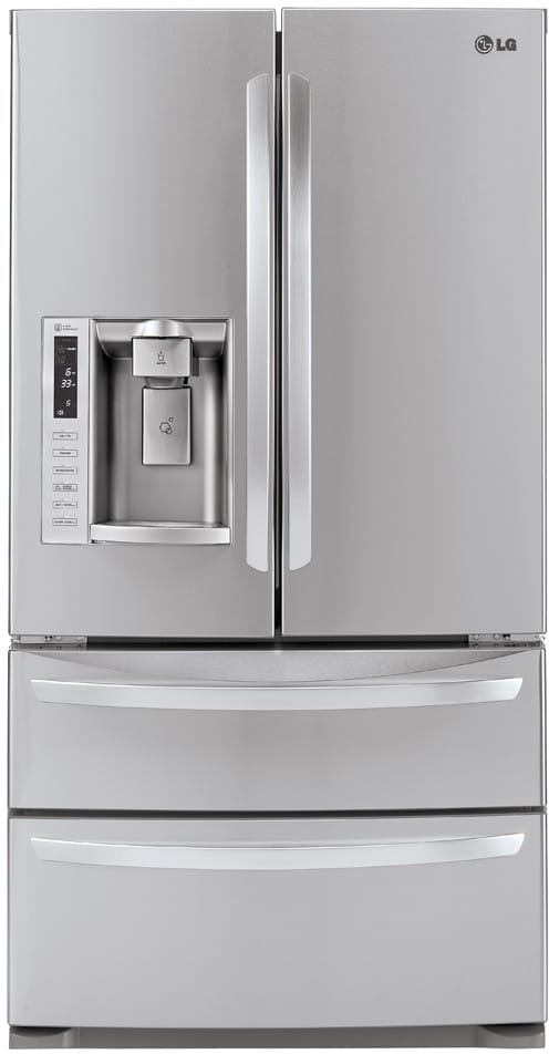 Lg Lmx28988st 27 5 Cu Ft French Door Refrigerator With