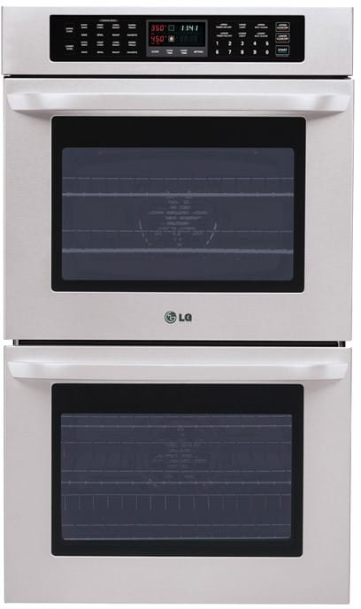 Lg Lwd3010st 30 Inch Double Electric Wall Oven With 4 7 Cu
