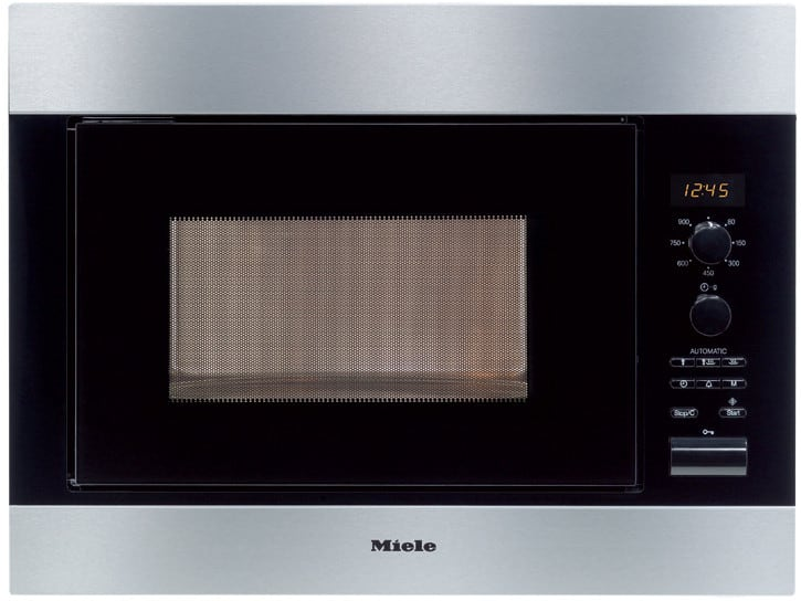 Astounding Miele M8260 24 Inch Built In Microwave Oven With 900 Cooking Watts 11 Automatic Programs Door Handles Collection Olytizonderlifede