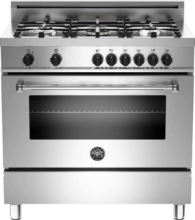 Bertazzoni Mas365dfmxe 36 Inch Pro Style Dual Fuel Range