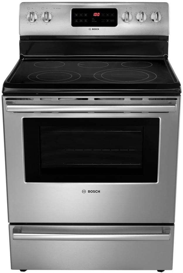 Bosch Hes5l53u 30 Inch Freestanding Electric Range With 5