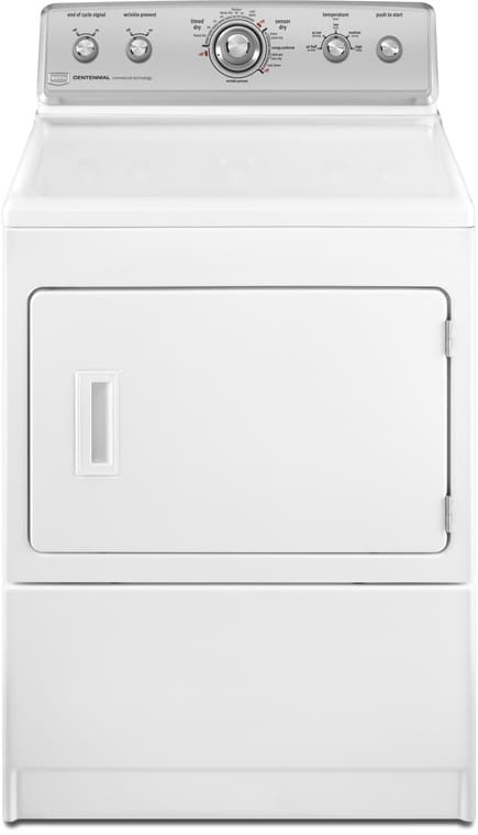 maytag centennial dryer maytag medc700vw 27 inch electric dryer with 7 4 cu ft 12681