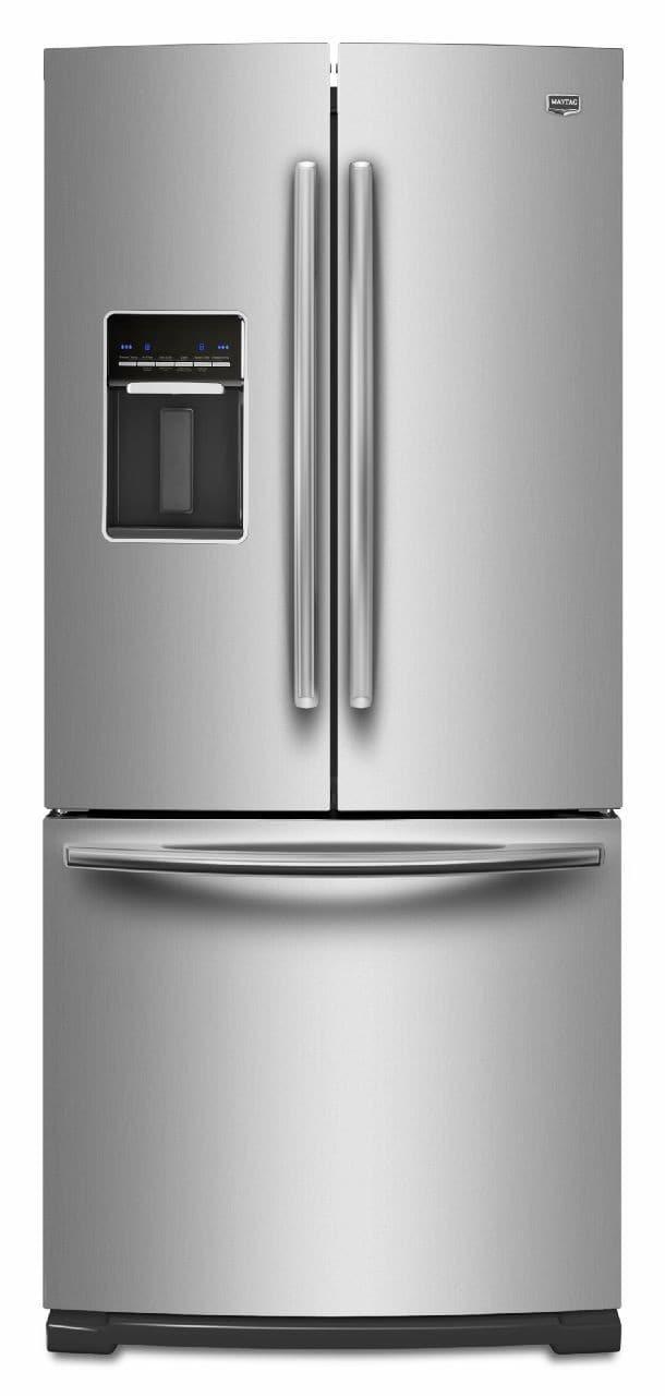 Maytag Mfw2055yem 19 6 Cu Ft French Door Refrigerator