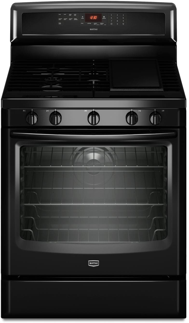 Maytag Mgr8880ab 30 Inch Freestanding Gas Range With 5