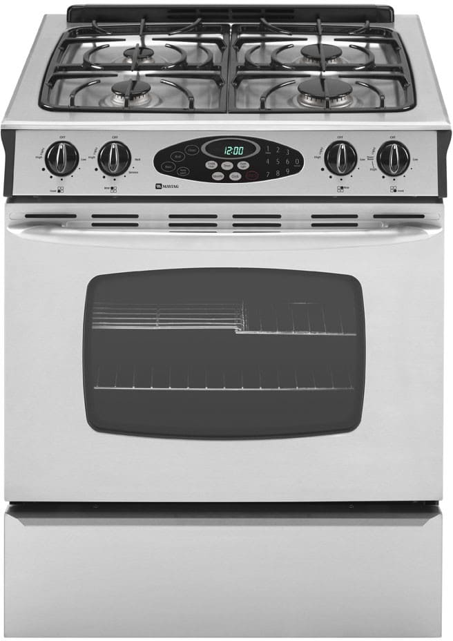 Maytag Mgs5775bds 30 Inch Slide In Gas Range With 4 Sealed
