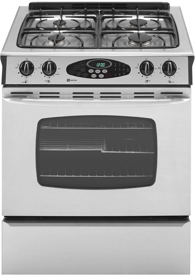 Maytag Mgs5875bds 30 Inch Slide In Gas Range With 4 Sealed