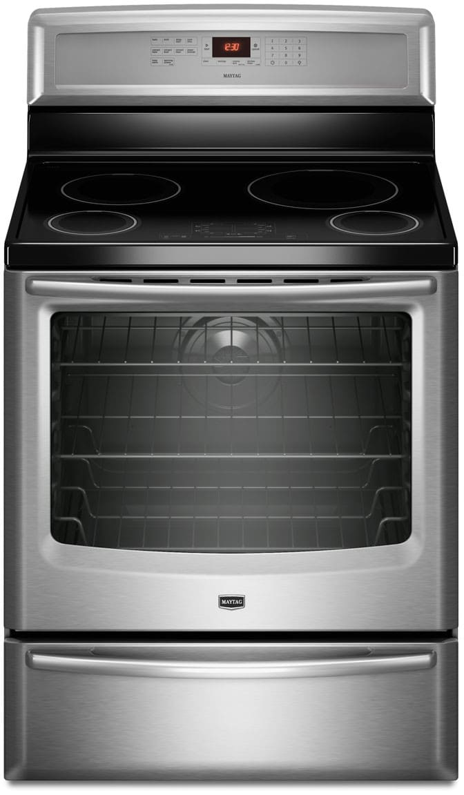 Maytag Mir8890as 30 Inch Freestanding Induction Range With