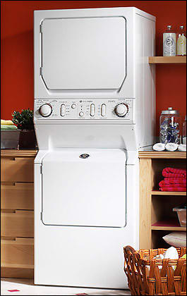 Maytag Mle2000ayw 27 Inch Electric Laundry Center With 3
