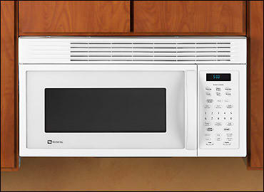 Maytag Mmv5156aaw Over The Range Microwave Oven 1 5 Cu Ft