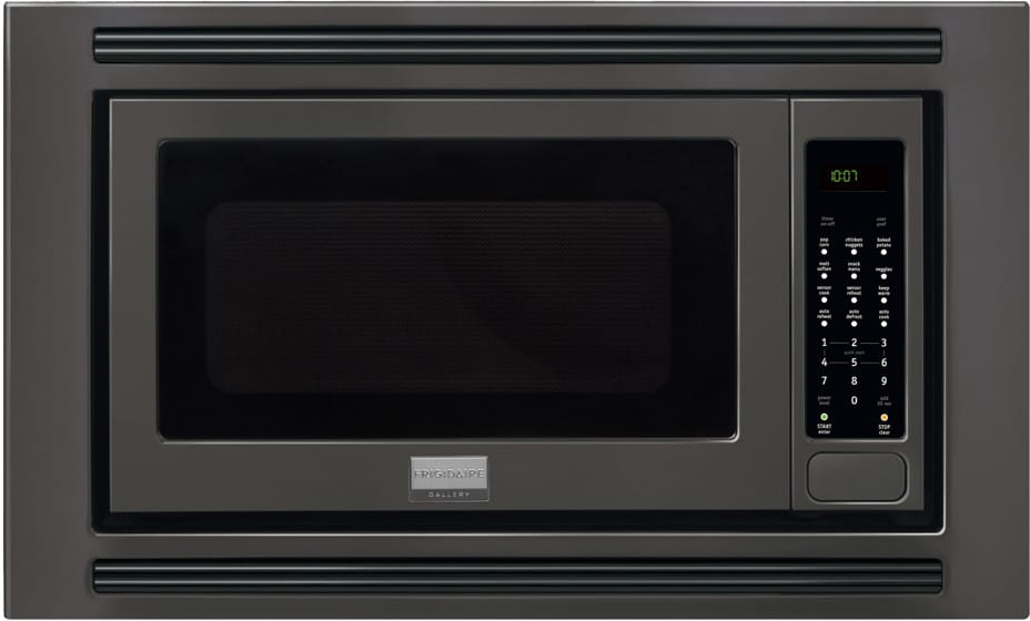 Frigidaire Gallery Series Fgmo205kb Black With Built In Trim Kit