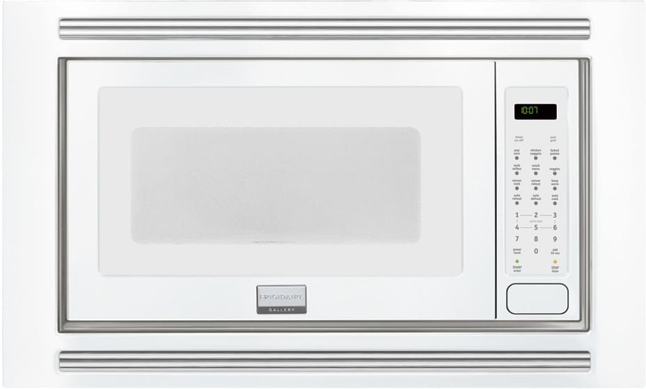 Frigidaire Gallery Series Fgmo205kw White With Built In Trim Kit