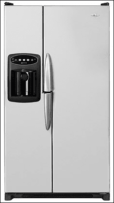 Maytag MZD2667HES 25.6 Cu. Ft. Wide-By-Side Refrigerator with ...