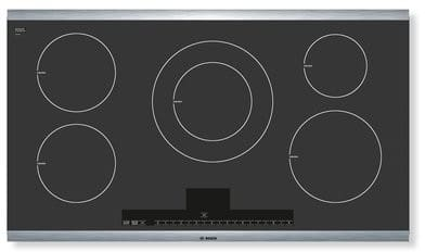 Bosch Nit5665uc 36 Inch Induction Cooktop With 5 Cooking