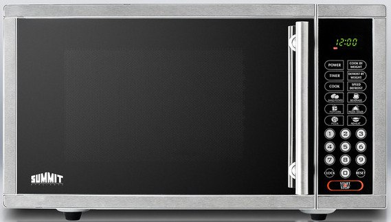 Best Over The Range Microwave >> Summit OTR24 19 Inch Built-in Microwave Oven with 900 Cooking Watts, Convenient Cook Menu, Speed ...