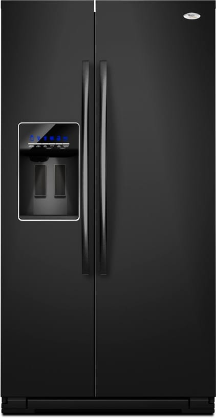 Whirlpool Gsf26c4exb 26 4 Cu Ft Side By Side Refrigerator With