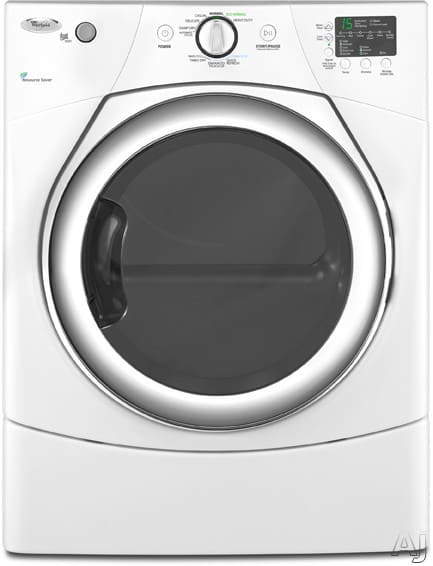 Whirlpool Wed9270xw 27 Inch Electric Dryer With 6 7 Cu Ft