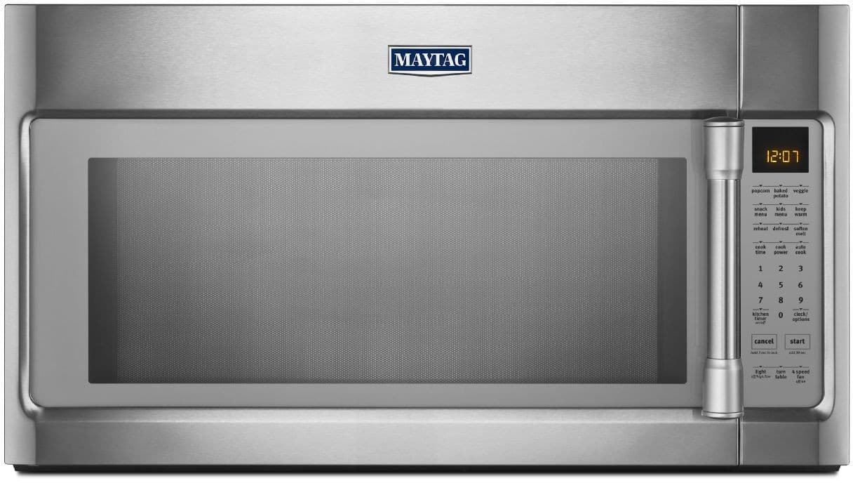 Maytag Mmv5219ds 2 1 Cu  Ft  Over