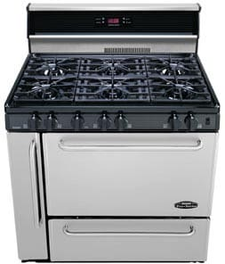 Premier P36s148bp 36 Inch Commercial Style Gas Range With