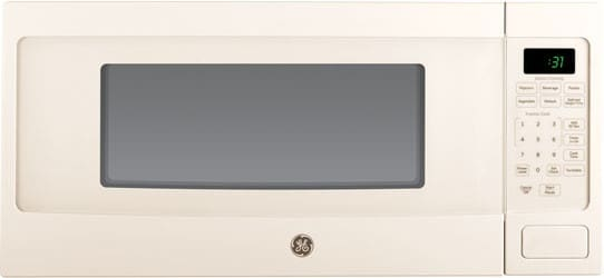 Ge Pem31dfcc 1 1 Cu Ft Countertop Microwave Oven With