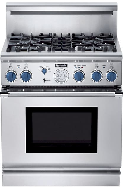 Thermador Pg304bs 30 Inch Pro Style All Gas Range With 4