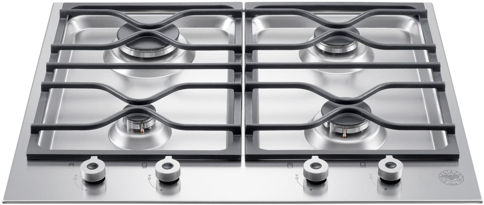 Bertazzoni Pm24400x 24 Inch Gas Cooktop With 4 Sealed