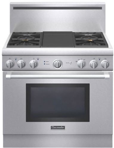 Thermador Prl364gdh 36 Inch Pro Style Gas Range With 4