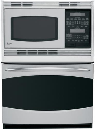 Ge Pt970srss 30 Inch Combination Double Electric Wall Oven