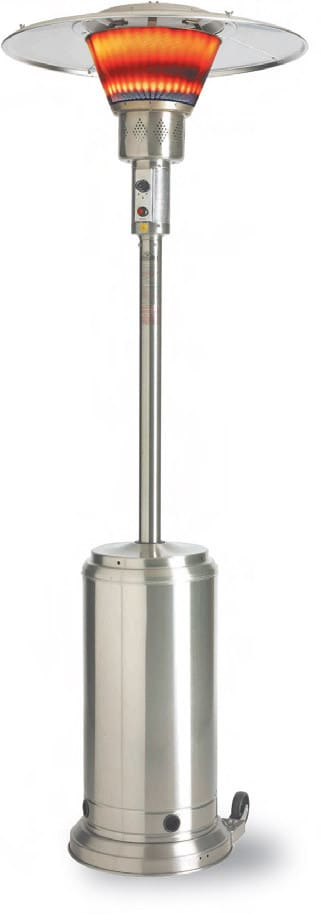 Napoleon PTH2650SS 91 Inch Tall Gas Patio Heater With 45000 BTU, 25 Ft.  Heating Area, Adjustable Controls And Direct Electronic Ignition: Liquid  Propane