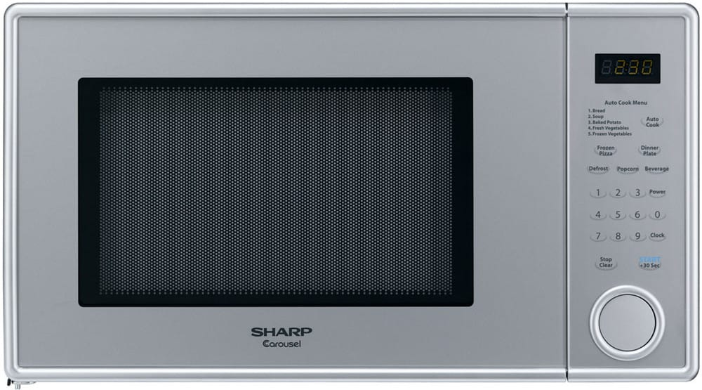 Sharp R309yv 1 1 Cu Ft Countertop Microwave Oven With