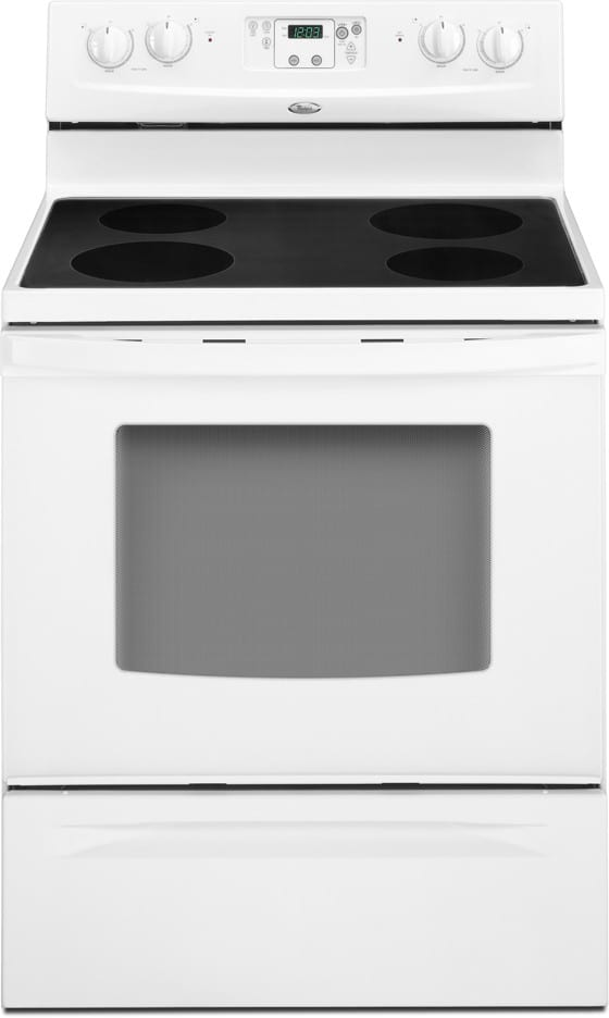 Whirlpool Rf214lxts 30 Inch Freestanding Electric Range