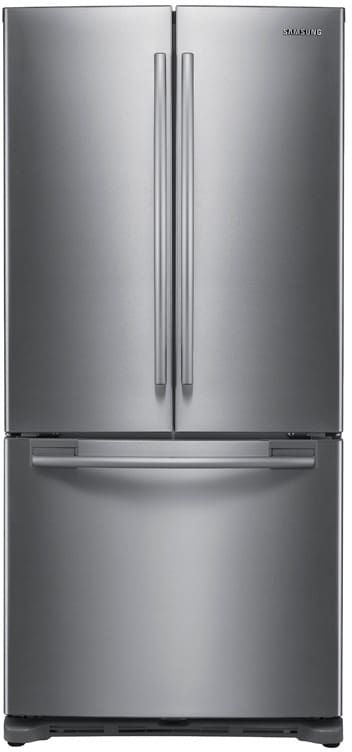 Samsung Rf217abrs 20 Cu Ft French Door Refrigerator With