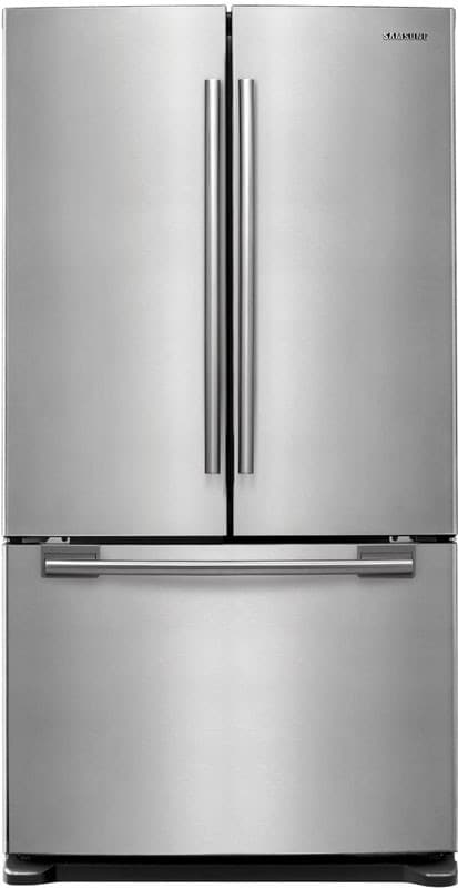 Samsung Rf263ae 25 8 Cu Ft French Door Refrigerator With