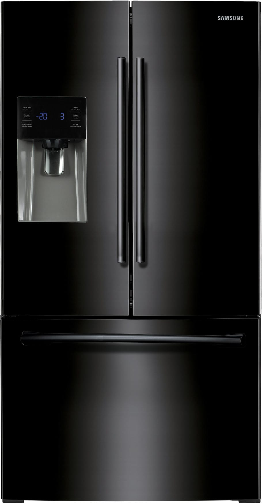 Rf263beaebc Samsung Black 36 Inch French Door Refrigerator