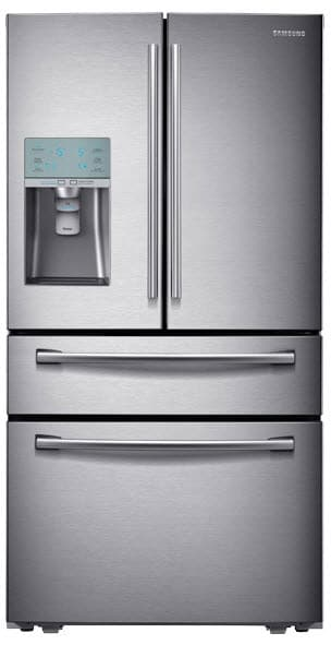 Samsung Rf31fmesbsr 36 Inch French Door Refrigerator With