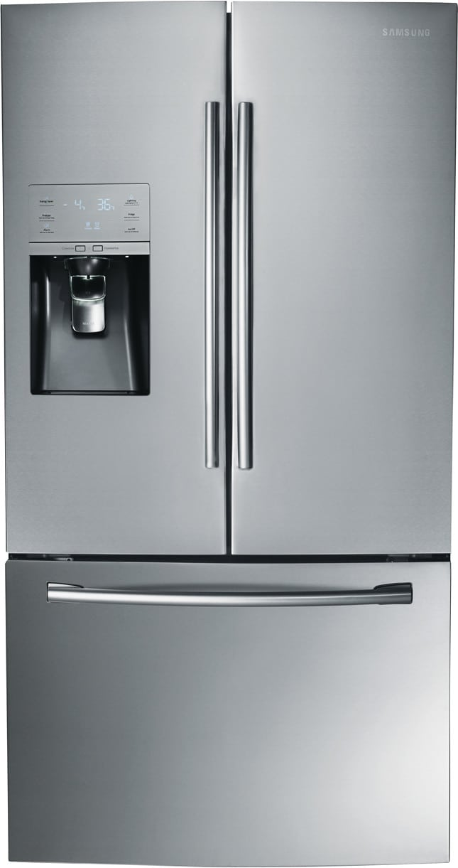 Samsung Rf323tedbsr 36 Inch French Door Refrigerator With