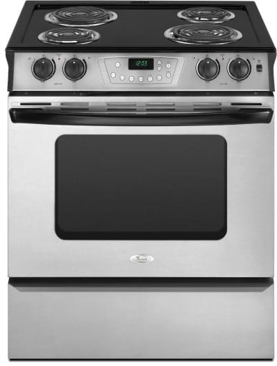 Whirlpool Ry160lxts 30 Inch Slide In Electric Range With 4