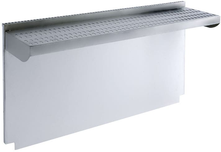 Wolf 808528 20 Inch Stainless Steel Riser with Shelf for 48 Inch ...